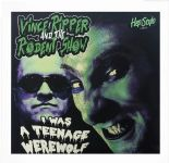 "45Re ✦ VINCE RIPPER ✦ ""I Was A Teenage Werewolf/Rippersville"" - Fantastic cover!"